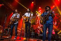 2Frères performs at the Festival d'ete de Quebec (Quebec Summer Festival) on July 14, 2018.