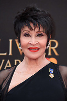 Chita Rivera arriving for the Olivier Awards 2018 at the Royal Albert Hall, London, UK. <br /> 08 April  2018<br /> Picture: Steve Vas/Featureflash/SilverHub 0208 004 5359 sales@silverhubmedia.com