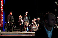 MILAN: Roberto Saviano partecipa alla manifestazione organizzata da Giustizia e Libertà per chiedere le dimissioni di Silvio Berlusconi. ..The writer Roberto Saviano attends the Giustizia e Libertà (Justice & Freedom) protest against Italian Prime Minister Silvio Berlusconi. Some 10,000 people attended the protest.