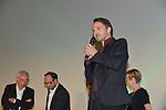 Fabrizio Rongione during the Opening Ceremony of the Festival International of Film Francophone in Namur in Belgium.  2 october 2015, Namur, Belgium
