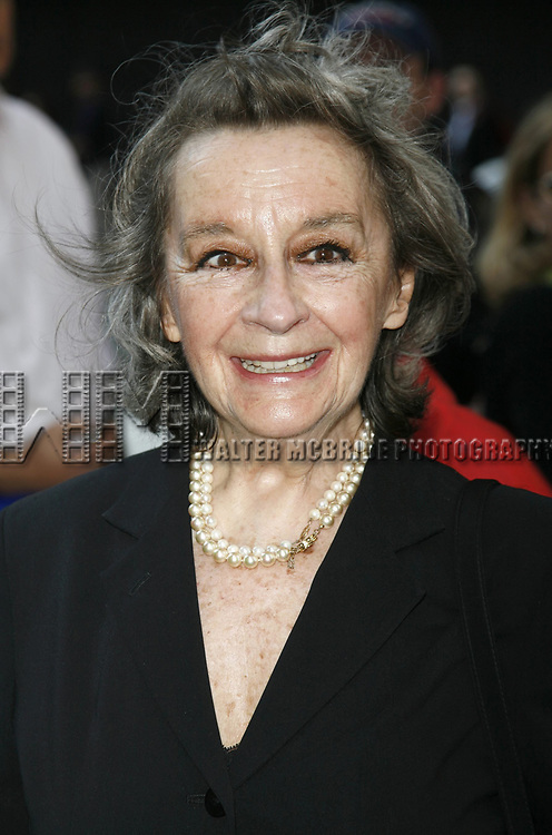 Zoe Caldwell attending the Broadway Opening Night performance of Brian Friel's FAITH HEALER at the Booth Theatre with an after party at Bryant Park Grill in New York City.<br />