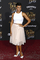 www.acepixs.com<br /> <br /> March 2 2017, LA<br /> <br /> Carly Hughes arriving at the premiere of Disney's 'Beauty And The Beast' at the El Capitan Theatre on March 2, 2017 in Los Angeles, California.<br /> <br /> By Line: Famous/ACE Pictures<br /> <br /> <br /> ACE Pictures Inc<br /> Tel: 6467670430<br /> Email: info@acepixs.com<br /> www.acepixs.com