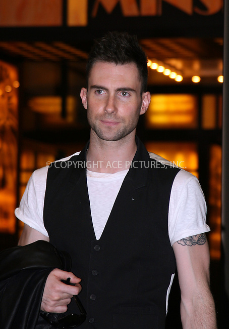 WWW.ACEPIXS.COM . . . . .  ....May 29 2007, New York City....Adam Levine arriving at MTV's TRL show in Times Square in Midtown Manhattan.....Please byline: NANCY RIVERA- ACE PICTURES.... *** ***..Ace Pictures, Inc:  ..tel: (646) 769 0430..e-mail: info@acepixs.com..web: http://www.acepixs.com