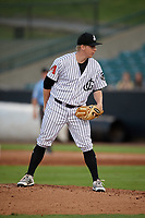 Jackson Generals pitcher Cameron Gann (24) during a Southern League game against the Mississippi Braves on July 23, 2019 at The Ballpark at Jackson in Jackson, Tennessee.  Mississippi defeated Jackson 1-0 in the second game of a doubleheader.  (Mike Janes/Four Seam Images)