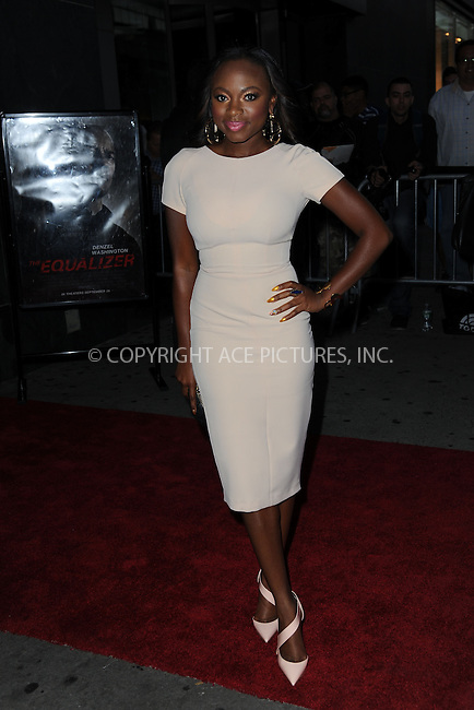 WWW.ACEPIXS.COM<br /> September 22, 2014 New York City<br /> <br /> Naturi Naughton attending 'The Equalizer' New York Screening at AMC Lincoln Square Theater on September 22, 2014 in New York City.<br /> <br /> By Line: Kristin Callahan/ACE Pictures<br /> ACE Pictures, Inc.<br /> tel: 646 769 0430<br /> Email: info@acepixs.com<br /> www.acepixs.com