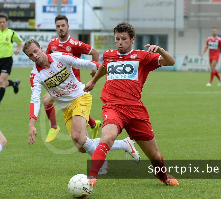 FC Gullegem - KV Kortrijk : Stijn De Smet <br /> foto VDB / BART VANDENBROUCKE