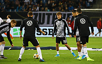 Luca Waldschmidt (Deutschland Germany) macht sich mit den Reservisten warm - 06.09.2019: Deutschland vs. Niederlande, Volksparkstadion Hamburg, EM-Qualifikation DISCLAIMER: DFB regulations prohibit any use of photographs as image sequences and/or quasi-video.