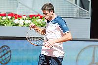 Spanish Enrique Lopez Perez during Mutua Madrid Open Tennis 2017 at Caja Magica in Madrid, May 06, 2017. Spain.<br /> (ALTERPHOTOS/BorjaB.Hojas) /NORTEPHOTO.COM