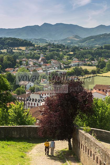 France, Pyrénées-Atlantiques (64), Pays-Basque, Saint-Jean-Pied-de-Port, // France, Pyrenees Atlantiques, Basque Country, Saint Jean Pied de Port,