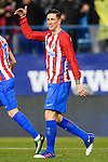 Fernando Torres of Atletico de Madrid reacts during their La Liga match between Atletico de Madrid and RC Celta de Vigo at the Vicente Calderón Stadium on 12 February 2017 in Madrid, Spain. Photo by Diego Gonzalez Souto / Power Sport Images