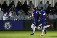 Conor Gallagher celebrates scoring Chelsea's third goal during Chelsea Under-19 vs AS Monaco Under-19, UEFA Youth League Football at the Cobham Training Ground on 19th February 2019