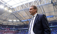 FUSSBALL   1. BUNDESLIGA  SAISON 2012/2013   4. Spieltag FC Schalke 04 - FC Bayern Muenchen      22.09.2012 Manager Horst Heldt  (FC Schalke 04) in der Veltins Arena