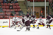Clay Anderson (Harvard - 5), Brett Corkey (Colgate - 20), Tylor Spink (Colgate - 18), Colin Blackwell (Harvard - 63), Tyson Spink (Colgate - 8) -  - The Harvard University Crimson defeated the visiting Colgate University Raiders 7-4 (EN) on Saturday, February 20, 2016, at Bright-Landry Hockey Center in Boston, Massachusetts.