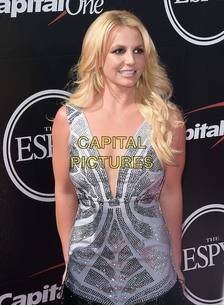 Britney Spears attends The 2015 ESPY Awards held at The Microsoft Theatre  in Los Angeles, California on July 15,2015                                                                               <br /> CAP/DVS<br /> &copy;DVS/Capital Pictures