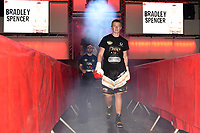 Bradley Spencer (black/gold shorts) defeats Iain Jackson during a Boxing Show at York Hall on 3rd March 2018