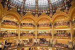 Lafayette Department Store, Paris, France