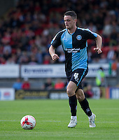 Stephen McGinn of Wycombe Wanderers in action during the Sky Bet League 2 match between Leyton Orient and Wycombe Wanderers at the Matchroom Stadium, London, England on 19 September 2015. Photo by Andy Rowland.