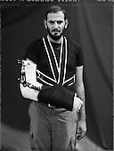 Islahiye, August- September 2012, Turkey<br /> Muhammad Anwat - Syrian refugees<br /> (Photo by Filip Cwik / Napo Images )<br /> <br /> PICTURE TAKEN ON NEGATIVES POLAROID 55<br /> <br /> Islahiye, sierpien-wrzesien 2012 Tyrcja<br /> Muhammad Anwat <br /> (fot. Filip Cwik / Napo Images)