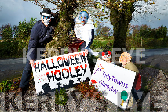 Launch of Kilmoyley Halloween Hooley fundraiser Coffee and Cake Sale Morning at the Kilmoyley  Community Centre on Sunday 29th October 11am in aid of the Kilmoyley Tidy Towns