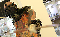 SÃO PAULO,SP, 20.11.2016 - TATTOO-EXPERIENCE - Movimentação na Tattoo Experience, Feira de Tatuagens, Body Piercing, no Centro de Convenções Frei Caneca neste domingo, 20 (Foto: Paulo Guereta/Brazil Photo Press)