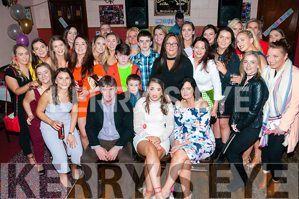 21st Birthday : Saoirse Ahern, Ballylongford celebrating her 21st birthday with family & friends at O'Connor's Bar, Ballylongford on Saturday night last.