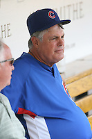 Lou Piniella of the Chicago Cubs vs. the San Diego Padres: June 18th, 2007 at Wrigley Field in Chicago, IL.  Photo by Mike Janes/Four Seam Images