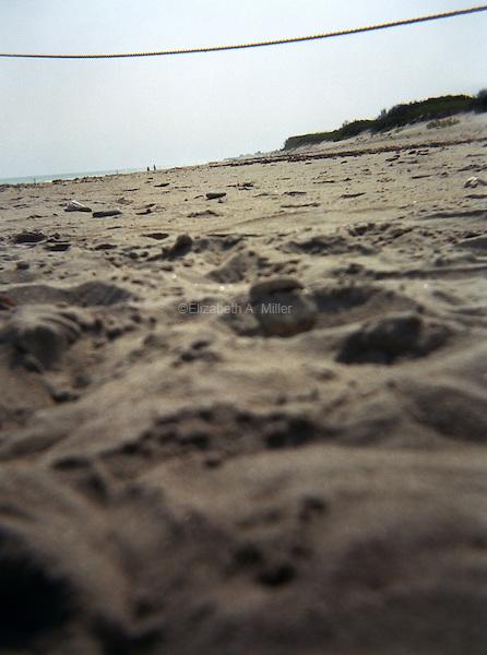 The beach in Rhode Island.