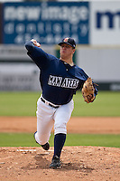 April 11th 2010: Cody Scarpetta of the Brevard County Manatees, the Florida State League High-A affiliate of the Milwaukee Brewers in a game against the of the Daytona Cubs, the Florida State League High-A affiliate of the Chicago Cubs at Space Coast Stadium in Viera, FL (Photo By Scott Jontes/Four Seam Images)
