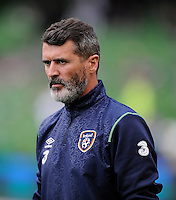 13th June 2013; Euro 2016 Qualifier, Republic of Ireland vs Scotland, Aviva Stadium, Dublin. <br /> Republic of Ireland assistant manager Roy Keane<br /> Picture credit: Tommy Grealy/actionshots.ie.