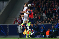 Zeki Celik of Lille OSC and Marcos Alonso of Chelsea during Lille OSC vs Chelsea, UEFA Champions League Football at Stade Pierre-Mauroy on 2nd October 2019