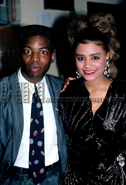 Desiree Coleman and Levar Burton in New York City in May of 1986.