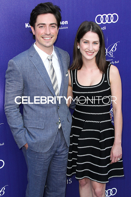 BRENTWOOD, LOS ANGELES, CA, USA - JUNE 07: Ben Feldman, Michelle Mulitz at the 13th Annual Chrysalis Butterfly Ball held at Brentwood County Estates on June 7, 2014 in Brentwood, Los Angeles, California, United States. (Photo by Xavier Collin/Celebrity Monitor)