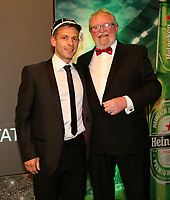 Thursday 10th May 2018 | Ulster Rugby Awards 2018<br /> <br /> Ulster Branch President, Graffin Parke, presents Paul Marshall with his 200 Cap during the 2018 Heineken Ulster Rugby Awards at La Mom Hotel, Belfast. Photo by John Dickson / DICKSONDIGITAL