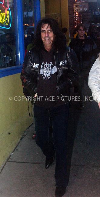 WWW.ACEPIXS.COM . . . . .  ....PARK CITY, UTAH, JANUARY 24, 2005....Alice Cooper seen at the Sundance Film Festival in Park City, Utah.....Please byline: Ian Wingfield - ACE PICTURES..... *** ***..Ace Pictures, Inc:  ..Alecsey Boldeskul (646) 267-6913 ..Philip Vaughan (646) 769-0430..e-mail: info@acepixs.com..web: http://www.acepixs.com