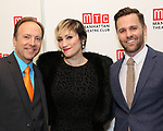 Craig Waleztko, Eden Espinosa and Caleb Damschroder attends the 2017 Manhattan Theatre Club Fall Benefit honoring Hal Prince on October 23, 2017 at 583 Park Avenue in New York City.