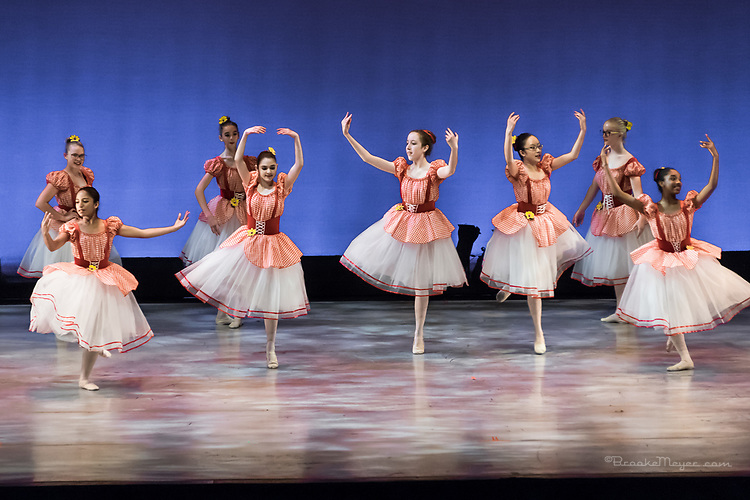 "Saturday Evening Performance of ""A Dance 4 All Seasons"", the 2017 Annual Showcase by the Cary Ballet Conservatory"