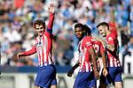 Atletico de Madrid's Antoine Griezmann, Gelson Martins, Thomas Lemar and Saul Niguez celebrate goal during La Liga match. November 3,2018. (ALTERPHOTOS/Acero)