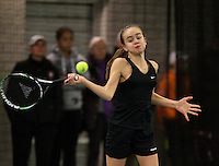 Rotterdam, The Netherlands, March 19, 2016,  TV Victoria, NOJK 14/18 years, Bente Spee (NED)<br /> Photo: Tennisimages/Henk Koster