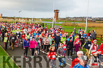 At  the Start of the  Santa 5km run in memory of Fiona Moore in aid of Heart Children Ireland at the Tralee Wetlands