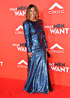LOS ANGELES, CA. January 28, 2019: Tamala Jones at the US premiere of &quot;What Men Want!&quot; at the Regency Village Theatre, Westwood.<br /> Picture: Paul Smith/Featureflash