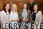 Pictured at the Fashion Show in aid of Scoil Mhichíl Naofa, Ballinskelligs at the Ring of Kerry Hotel on Thursday were l-r; Bernie Cronin, Laura Fitzpatrick, Peggy O'Connor & Sarah Dillon.
