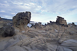 Interesting rock formation at Salt Point State Park, Sonoma California