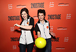 Emma Geer and Tatiana Maslany attends The Second Stage Theater's  32nd Annual All-Star Bowling Classic at the Lucky Strike on February 11, 2019 in New York City.