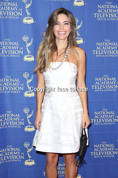 LOS ANGELES, CA - JUNE 20: Amelia Heinle at the Daytime Creative Arts Emmy Awards Gala at the Westin Bonaventure Hotel on June 20, 2014 in Los Angeles, California. Credit: mpi86/MediaPunch<br />