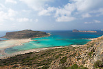 Balos, Crete.  Balos Beach on the Gramvousa Peninsula