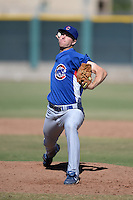 Chicago Cubs pitcher Scott Frazier (39) during an Instructional League game against the San Francisco Giants on October 18, 2013 at Giants Baseball Complex in Phoenix, Arizona.  (Mike Janes/Four Seam Images)