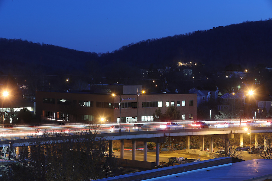 The Belmont Bridge located off the Downtown Mall in Charlottesville, Va. Photo/Andrew Shurtleff Photography, LLC