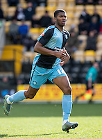 Rowan Liburd (Loanee from Reading) of Wycombe Wanderers during the Sky Bet League 2 match between Notts County and Wycombe Wanderers at Meadow Lane, Nottingham, England on 28 March 2016. Photo by Andy Rowland.
