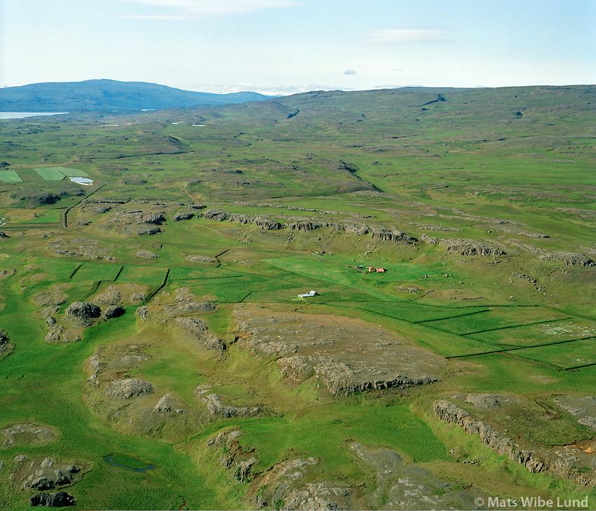 Egilssel séð til suðvesturs, Fljótsdalshérað áður Fellahreppur / Egilssel viewing southwest, Fljotsdalsherad former Fellahreppur