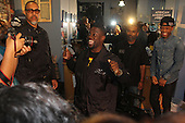 "Actor and comedian, Kevin Hart spent Friday afternoon cutting hair t the Hyde Park Hair Salon located at 5234 S. Blackstone and spending time with fans while promoting his new movie, ""Think Like a Man 2""."
